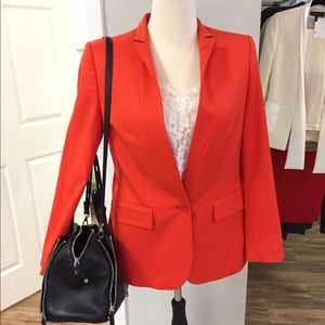 [Stella McCartney] red orange blazer